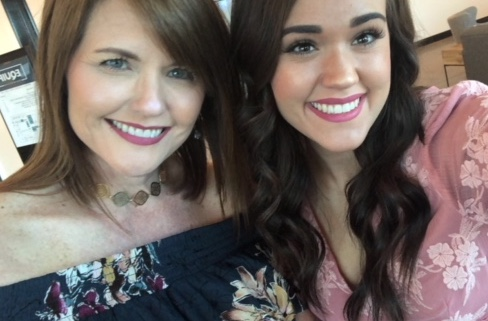 Sierra and her mother Amy