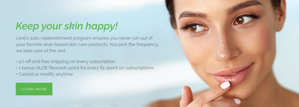 Learn more about the Lexli Auto-Replenish Subscription program and benefits