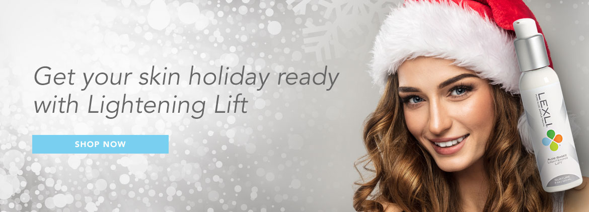 Get your skin holiday ready with Lightening Lift. Shop Now!