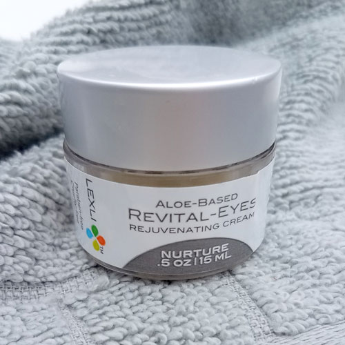 Wendy lives by our Revital-Eyes cream