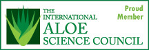 Lexli is a proud member of the International Aloe Science Council